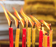 Free Lighting Candle Of The Prayers At The Temple Royalty Free Stock Image - 37398016