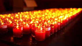 Lighting of candles Stock Photography