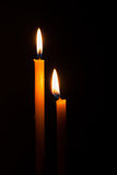 Lighting candles Royalty Free Stock Image