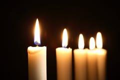 Lighting Candles Stock Image