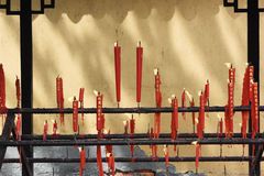 Lighting candles Royalty Free Stock Images