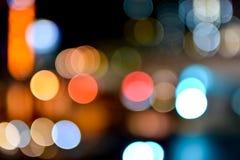 Lighting City Sathorn. Photo Light City in Sathorn Royalty Free Stock Photo