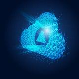 Lighting Cloud Stock Photography