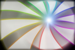 Lighting color strip effect. Simulation Royalty Free Stock Images