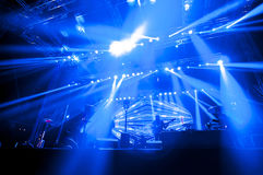 Lighting for concert Royalty Free Stock Photography