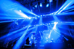 Lighting for concert Royalty Free Stock Image