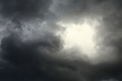 Lighting in the dark thunderstorm Royalty Free Stock Image