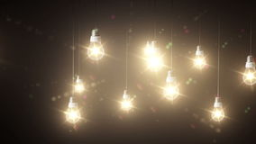 Lighting decor stock video footage