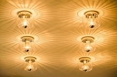 Lighting decor. Royalty Free Stock Image