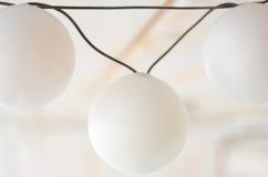 Lighting Detail Stock Image