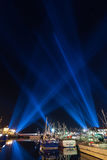 Lighting display Hobart Royalty Free Stock Photos