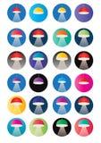 Lighting  Downlight ,  spotlight lighting design illustration  Stock Photos