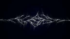 Lighting effect. Abstract black background Royalty Free Illustration