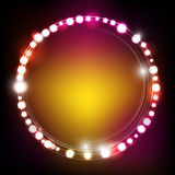 Lighting Effect 005. Abstract dot bright lighting effect Royalty Free Stock Photo