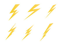 Lighting, electric charge icon vector symbol illustration Stock Photo