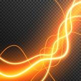 Lighting Electric thunder storm glow sparkle vector transparent stock photo