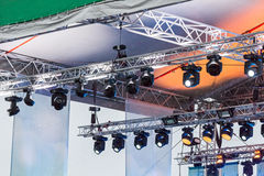 Lighting equipment of outdoor concert stage stock image image of lighting equipment of outdoor concert stage stock photo workwithnaturefo