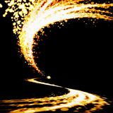 Lighting explosion Stock Images
