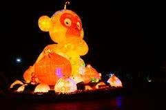 Lighting facilities: monkey style, very beautiful Stock Image