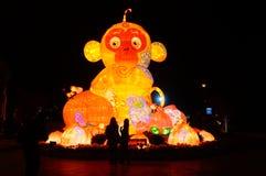 Lighting facilities: monkey style, very beautiful Stock Photo