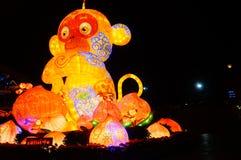 Lighting facilities: monkey style, very beautiful Royalty Free Stock Photography