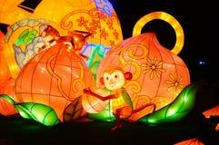 Lighting facilities: monkey style, very beautiful Royalty Free Stock Image