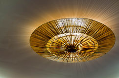 Lighting fixture on the ceiling Stock Photos
