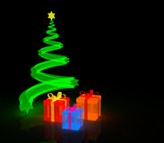 Lighting Gifts Royalty Free Stock Photos