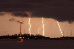 Lighting in keys west Royalty Free Stock Photography