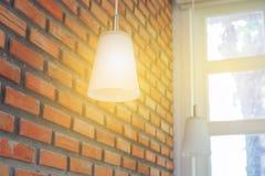 Lighting lamp with bulbs Stock Photography