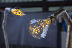 Lighting Lamp Decor. - Shallow of depth Royalty Free Stock Photo