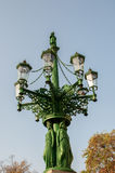 Lighting. Lamppost in the square at Prague Castle Czech Republic Europe Stock Photography