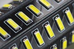 Lighting LED macro Stock Photography