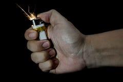Lighting Lighter Stock Photo