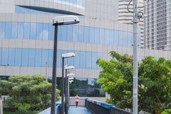 Lighting overpass Stock Photo