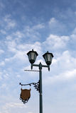 Lighting in the park. Royalty Free Stock Images