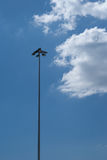 Lighting pole Stock Photography