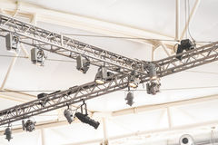 Lighting rig Stock Photography