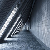 Lighting and shadow modern architecture Stock Photo