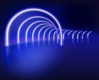 Lighting show. Vector illustration. Stock Photo