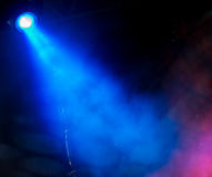 Lighting spotlights. In the music and nightclub lighting effects royalty free stock image