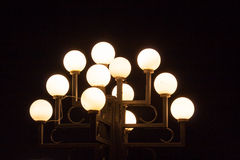 Lighting street lamp Stock Photo