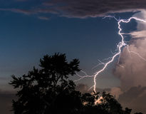 Lighting Strike Stock Photo