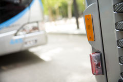 Lighting system light bus Royalty Free Stock Images