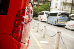Lighting system light bus Stock Images