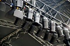Lighting System with spotlights Stock Photos