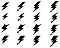 Lighting of thunder Stock Photos