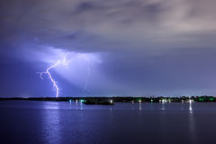 Lighting thunderbolt Royalty Free Stock Photography