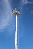 Lighting tower Royalty Free Stock Photography