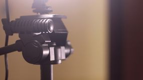 Lighting Tripod. When is used for web series production in a room Royalty Free Stock Photo